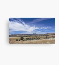 To the Hills Canvas Print