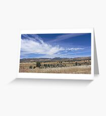 To the Hills Greeting Card