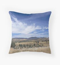 To the Hills Throw Pillow