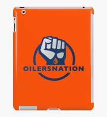 Edmonton Oilers Hockey Team NHL - Oilers Nation iPad Case/Skin
