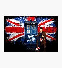 British Bad Wolf Photographic Print