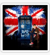British Bad Wolf Sticker