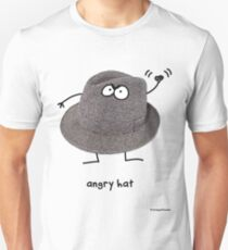 Angry Hat T-Shirt