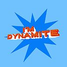 Dynamite (light blue) by wallpaperfiles
