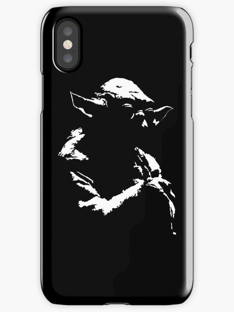 Star Wars Yoda Minimal Iphone Case