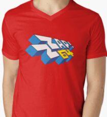 Gaming [C64] - Zzap!64 'Vector' Men's V-Neck T-Shirt