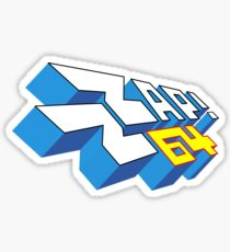 Gaming [C64] - Zzap!64 'Vector' Sticker
