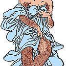 Hairy Woman by Alex e Clark