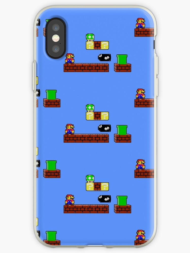 Pixel Nes Mario by Dan Shaw