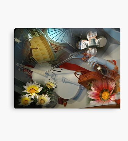 My mind working overtime Canvas Print
