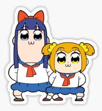 Pop Team Epic Pipimi & Popuko  Sticker