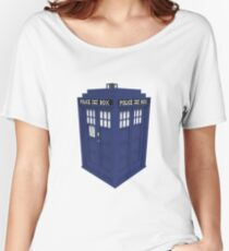 Pixel Doctor Who Tardis Women's Relaxed Fit T-Shirt