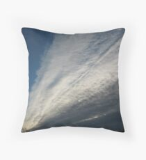 Streaming Clouds Throw Pillow