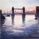 Tower Bridge Reflections by Henry Jones