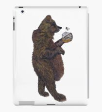 BEAR & THE BUMBLE BEE iPad Case/Skin