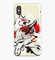 Okami: Amaterasu Art Print iPhone Case/Skin