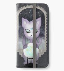 Mystic Miku | Crystal Ball & Zodiac | Dark Grey iPhone Wallet/Case/Skin