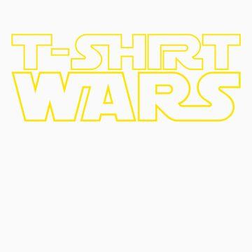 T-Shirt Wars by JevoUK