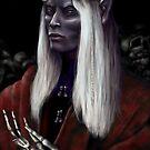 Dark Elf Necromancer by niksebastian