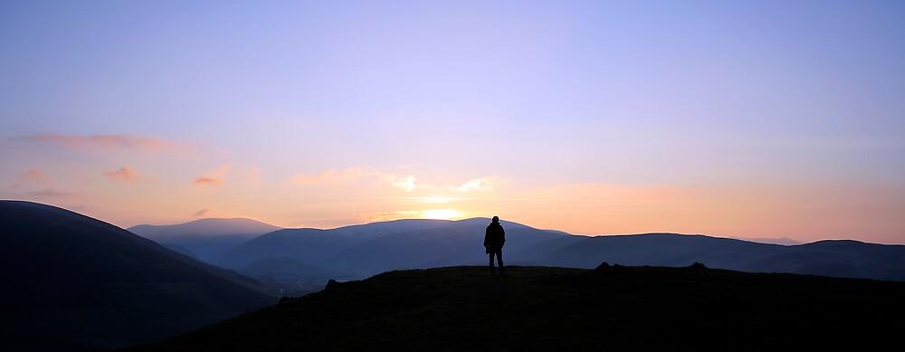 Cademuir Hill Panorama by photobymdavey