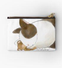 Bunny and Teddy Bear Studio Pouch