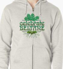 Celebrate Beltane Zipped Hoodie