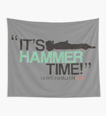 Lewis Hammilton Formula 1 UK Wall Tapestry