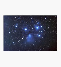 M45 seven sisters Photographic Print