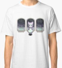 Mystic Miku | Crystal Ball & Zodiac | White Classic T-Shirt