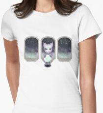 Mystic Miku   Crystal Ball & Zodiac   White Fitted T-Shirt