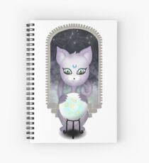 Mystic Miku | Crystal Ball & Zodiac | White Spiral Notebook