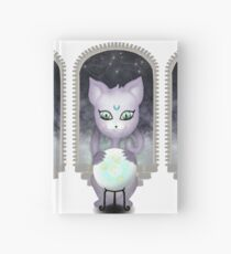 Mystic Miku   Crystal Ball & Zodiac   White Hardcover Journal