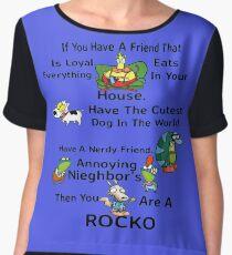 Your A Rocko Chiffon Top