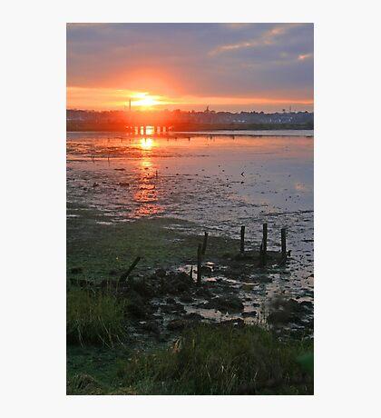 Holes Bay Sunset Photographic Print