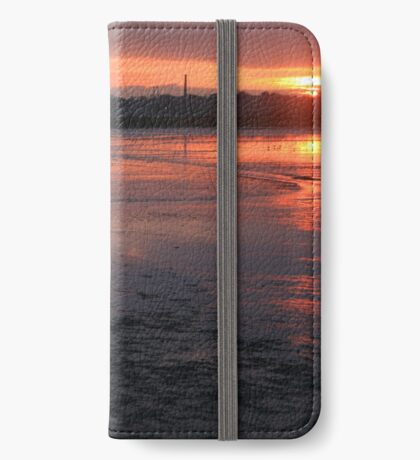Fire On The Water iPhone Wallet