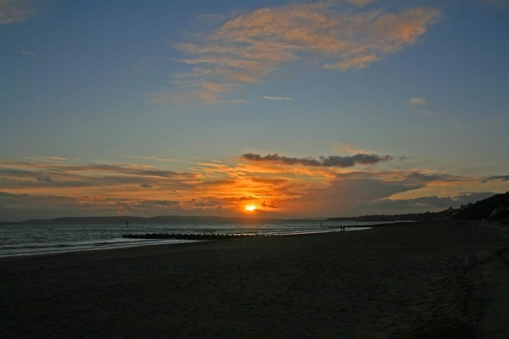 Boscombe Sunset by RedHillDigital