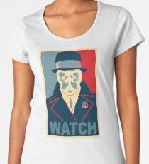 Who is Watching? Women's Premium T-Shirt