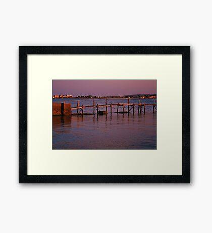 Evening Sunshine Framed Print