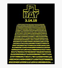 Pi Day - Transcend the Irrational Photographic Print