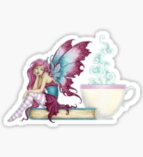 Sunday Morning Fairy Sticker