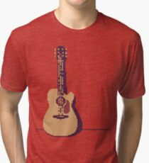 Acoustic Guitar Tri-blend T-Shirt