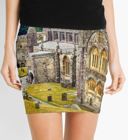 St David's Cathedral Mini Skirt