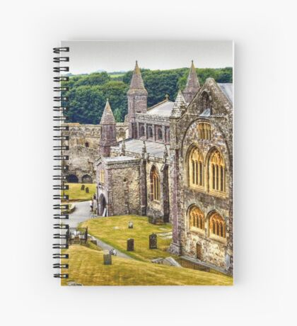 St David's Cathedral Spiral Notebook