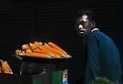 Street Vendor - Corn Cobs by Vikram Franklin