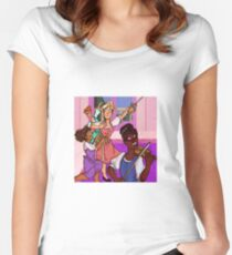 Barbie and The Three Musketeers Women's Fitted Scoop T-Shirt