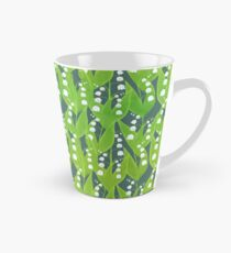 Lily of the Valley Floral Pattern Tall Mug