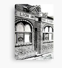 261 - THE LION INN, RHOS - DAVE EDWARDS - INK - 2016 Canvas Print