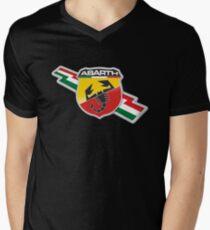 Abarth Italy Men's V-Neck T-Shirt