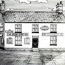 262 - THE SUN INN, RHOS - DAVE EDWARDS - INK - 2016 by BLYTHART