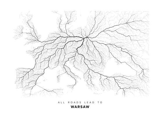 All Roads Lead to Warsaw by LaarcoStudio